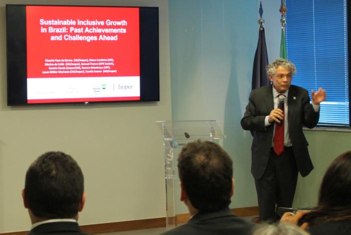 Ricardo Paes de Barros, professor titular do Insper (Foto: Mariana Ceratti)